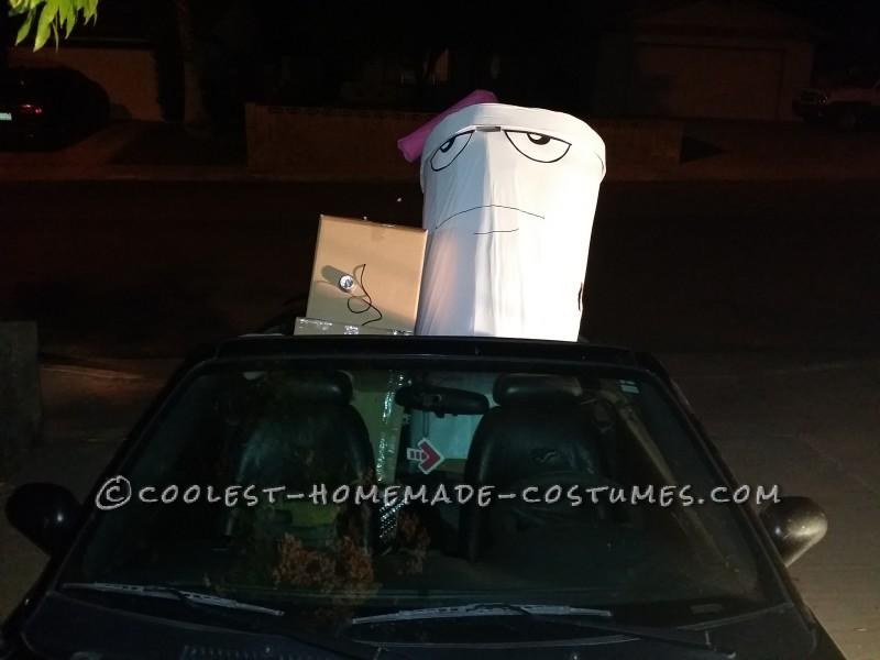 Cool Master Shake Costume in Vegas - 8