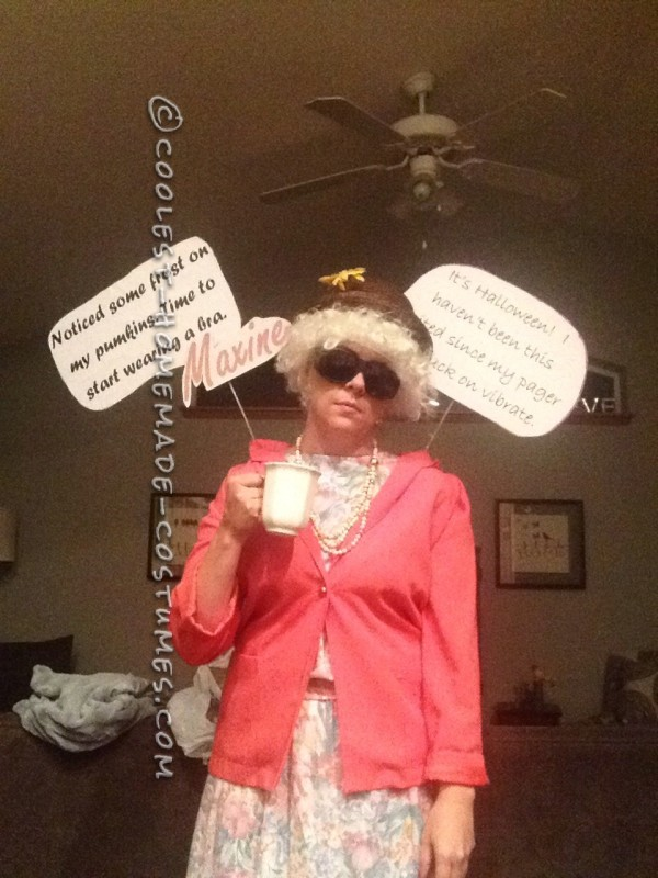 Cool Maxine Greeting Card Costume