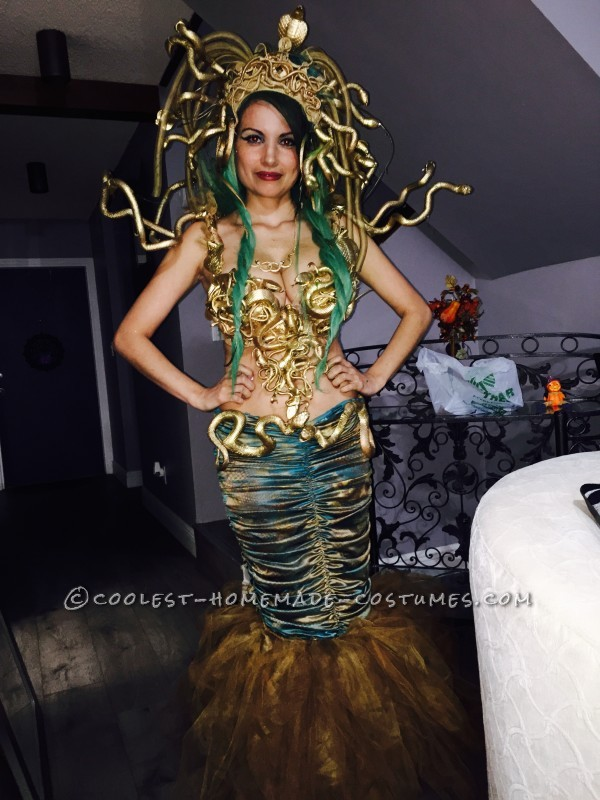 Beautifully Crafted Sexy Medusa Costume