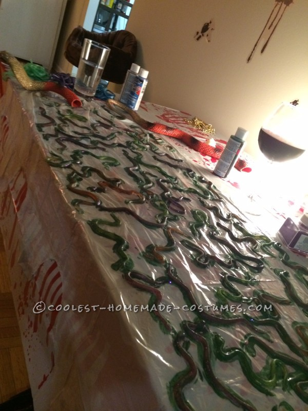 Painting the Snakes!