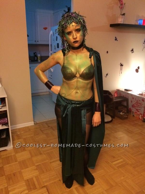 Homemade Medusa Costume – 150 Shades of Snakes - 2