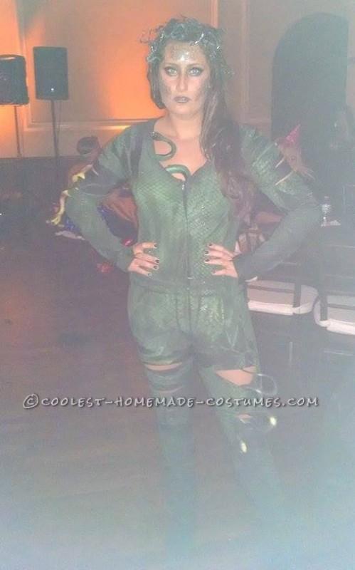 Coolest Medusa Snake Costume - 2
