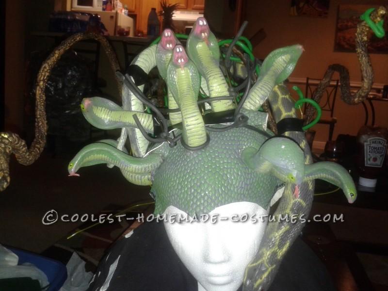 Medusa the Amazon - Sexiest Homemade Medusa Costume