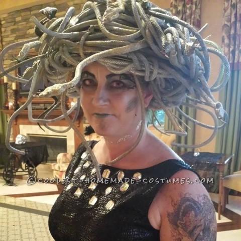 Cool Homemade Medusa Costume
