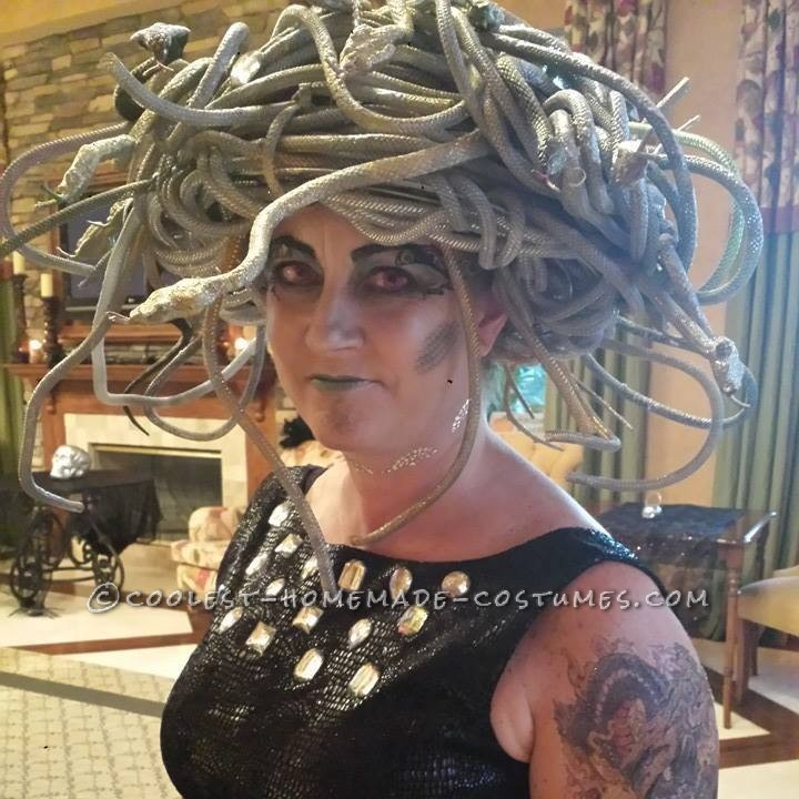 Cool Homemade Medusa Costume