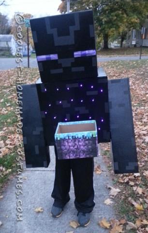 Coolest Minecraft Enderman Costume