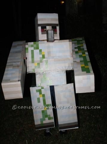 Homemade Minecraft Iron Golem Costume