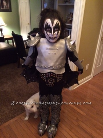 Coolest Mini Gene Simmons Costume