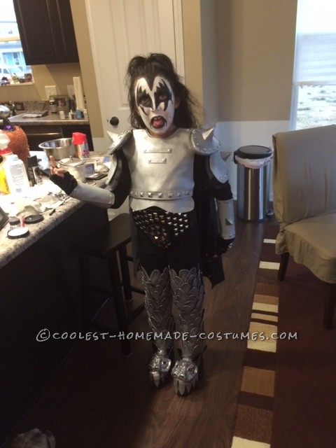 Coolest Mini Gene Simmons Costume - 1