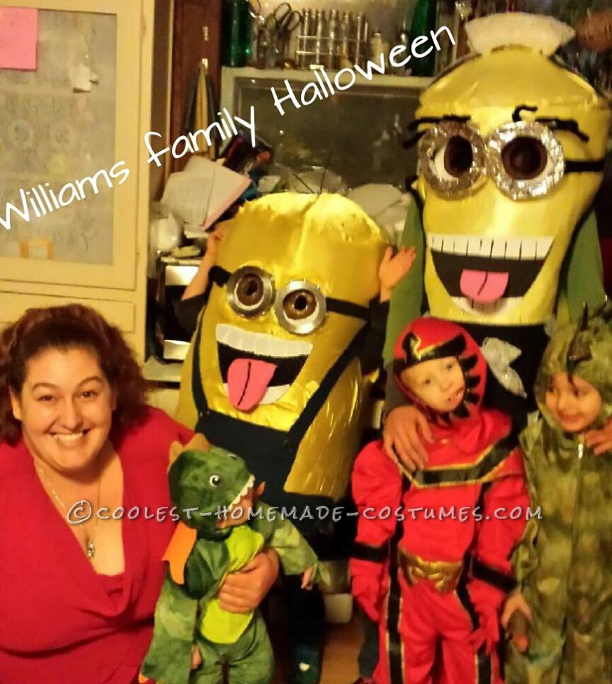Cool Homemade Minion Costumes