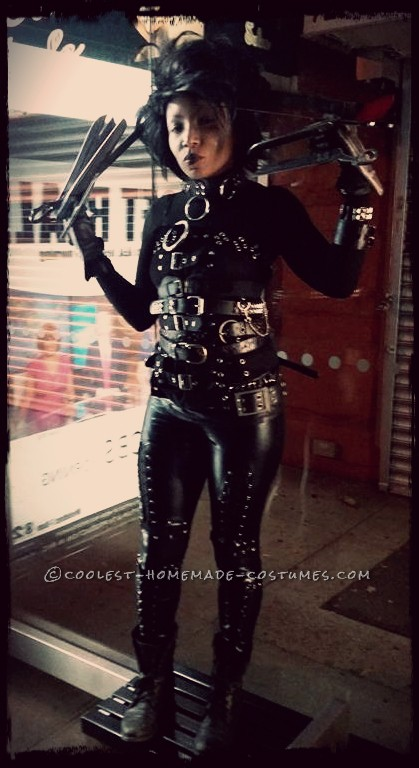 Miss Edwina Scissorhands Homemade Costume