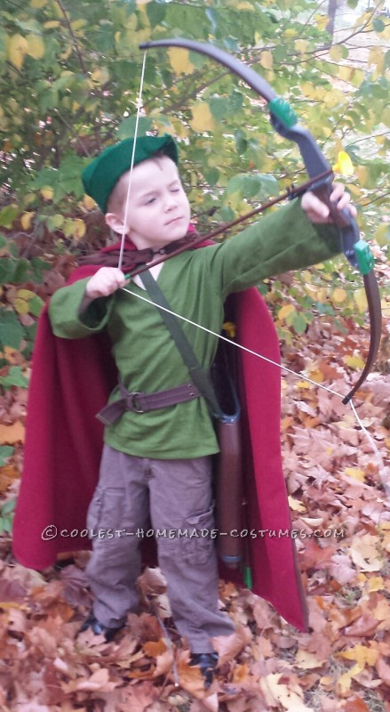 Being Robin Hood is serious work