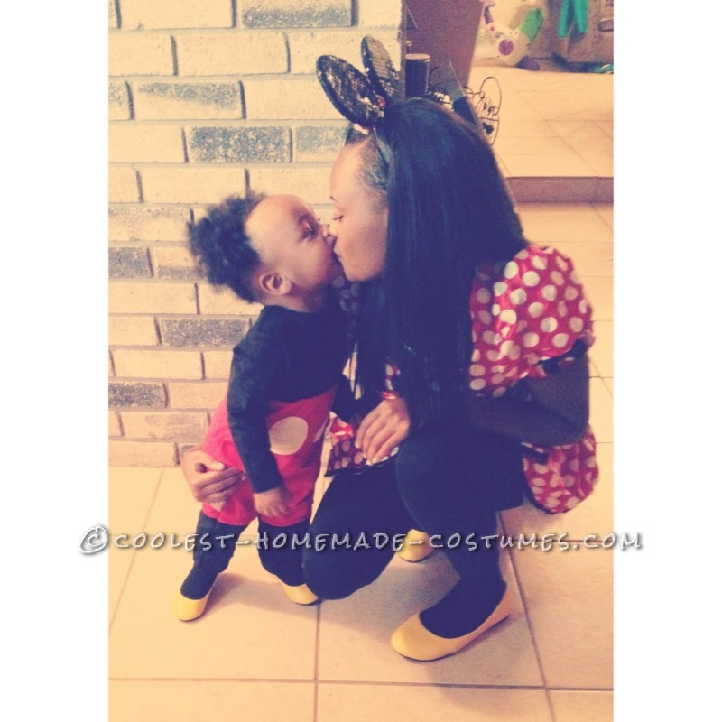 Mother and Son Costume: Mickey and Minnie - 1