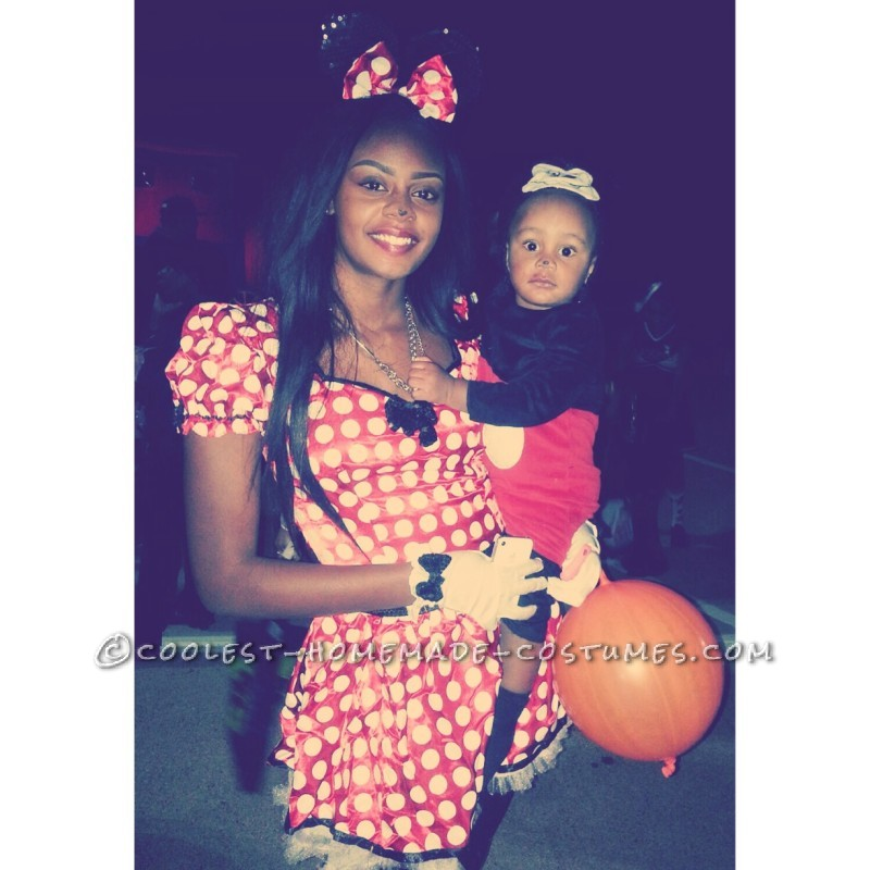 Mother and Son Costume: Mickey and Minnie - 4