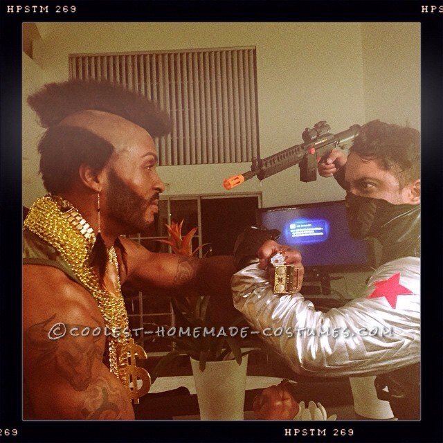 Coolest Homemade Mr. T Costume - 2