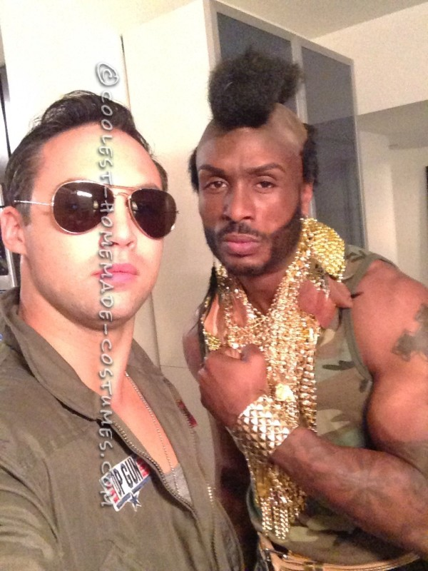 Coolest Homemade Mr. T Costume - 3
