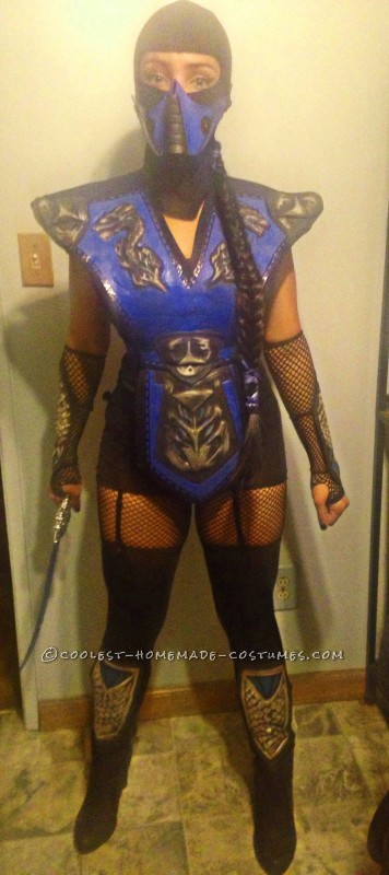 Mortal Combat Subzero Costume for a Woman