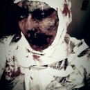 Cool Last Minute Mummy Costume for a Woman