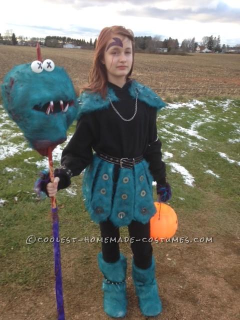 Coolest Homemade Muppet Slayer Costume