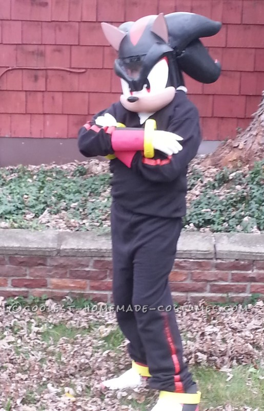 Coolest Sonic Boom Shadow the Hedgehog Costume