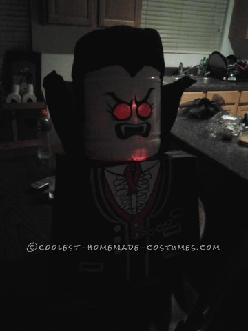Our Version of Lego Lord Vampire Costume