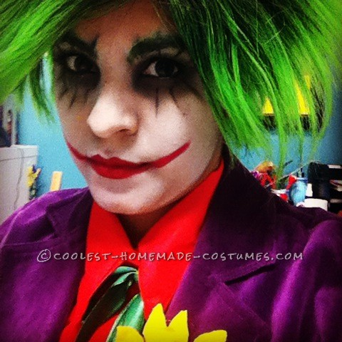 Homemade Super Cheap Joker Costume
