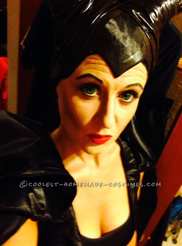 My Magnificent Maleficent Homemade Costume - 3