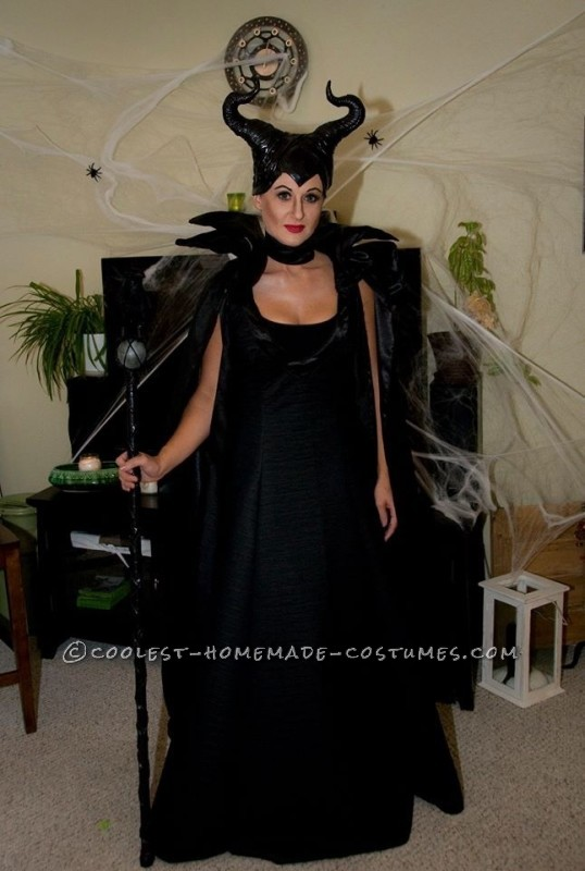 c5ac670a728a4 My Magnificent Maleficent Homemade Costume