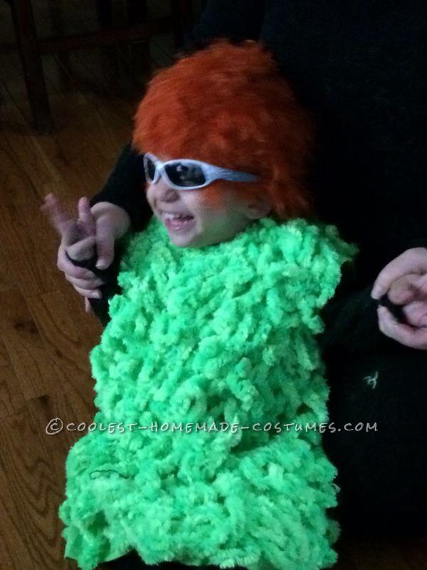 Homemade 2-Year Old Mahna Mahna Costume