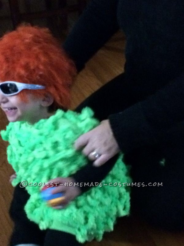 Homemade 2-Year Old Mahna Mahna Costume - 7