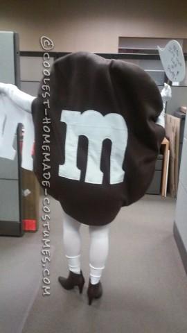 Naked M&Ms Halloween Costume Idea