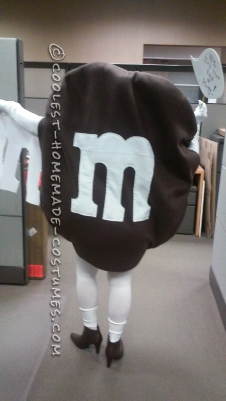Naked M&Ms Halloween Costume Idea