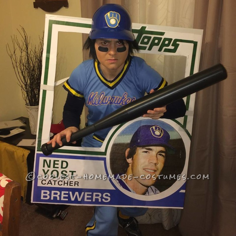 Coolest Ever Ned Yost Bunting Card Costume