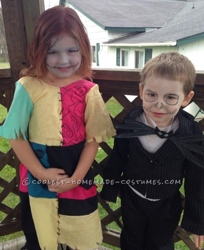Family Nightmare Before Christmas Costumes - 1