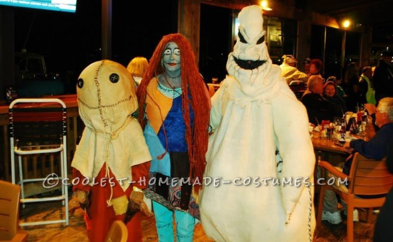 Great Nightmare Before Christmas Group Costume