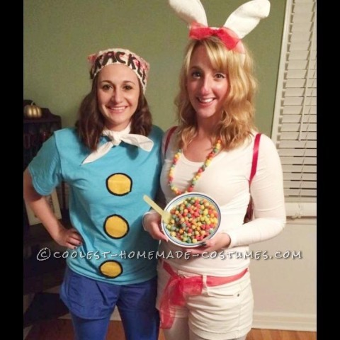 Nostalgic Cereal Mascot Group Costume