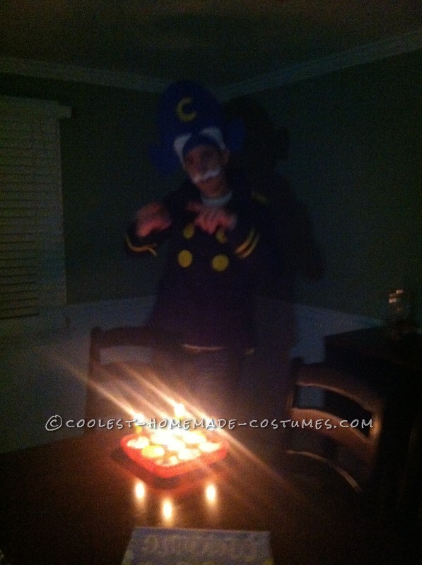 Captain Crunch Celebrating his Birthday