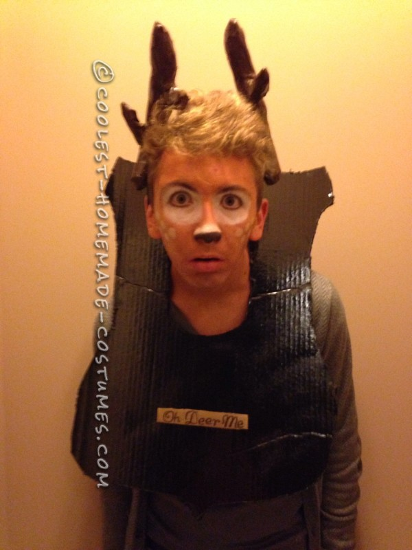 Coolest Homemade Deer Taxidermy Costume
