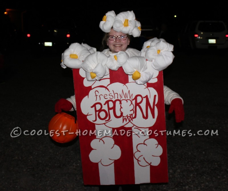 Coolest Old-Fashioned Popcorn Box Costume - 2