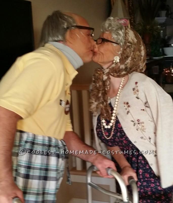 Old Folk Couple Costume - 4