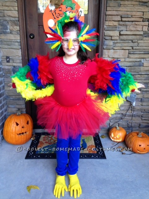 Coolest Parrot and Porcupine Costumes - 1