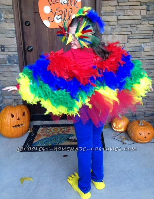 Coolest Parrot and Porcupine Costumes - 5