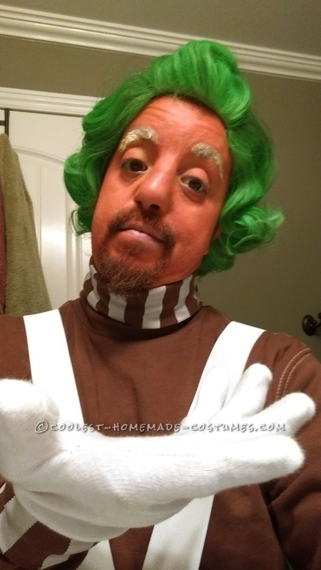 The Least Crafty Procrastinating Guy's Best Oompa Loompa Costume EVER - 1
