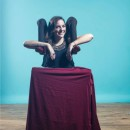 Cool Optical Illusion Contortionist Costume