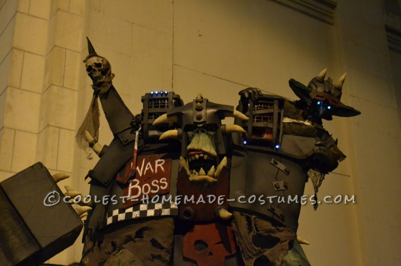 Cool Orc Warboss Costume from Warhammer