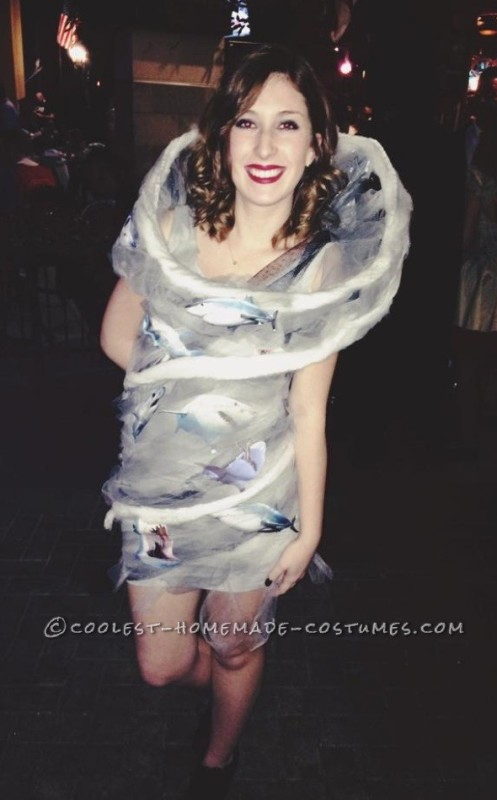 Original Sharknado Costume for Women - 1