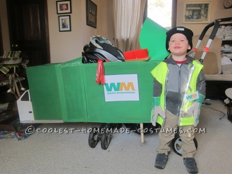 Our Little Waste Management Team Halloween Costumes