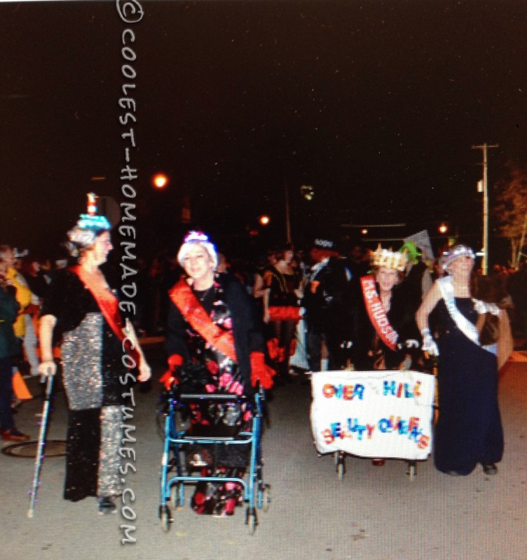 Over the Hill Beauty Queens Group Costume - 2