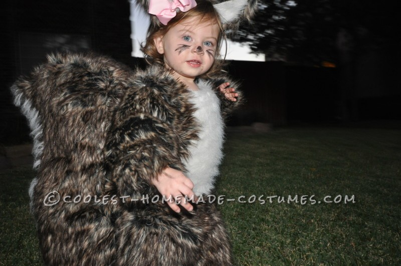 People Go NUTS for Toddler Squirrel Costume - 3