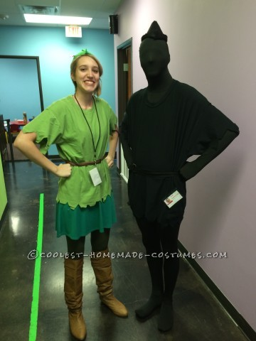 Original Peter Pan and His Shadow Couple Costume